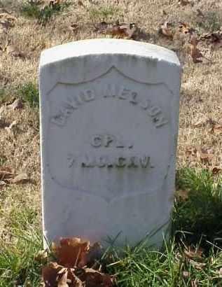 MELSON (VETERAN UNION), DAVID - Pulaski County, Arkansas   DAVID MELSON (VETERAN UNION) - Arkansas Gravestone Photos