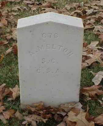 MELTON (VETERAN CSA), A - Pulaski County, Arkansas | A MELTON (VETERAN CSA) - Arkansas Gravestone Photos