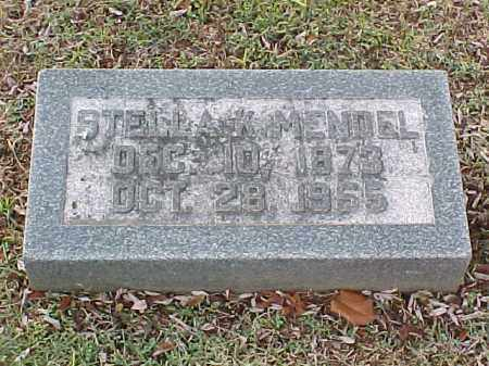 MENDEL, STELLA K - Pulaski County, Arkansas | STELLA K MENDEL - Arkansas Gravestone Photos