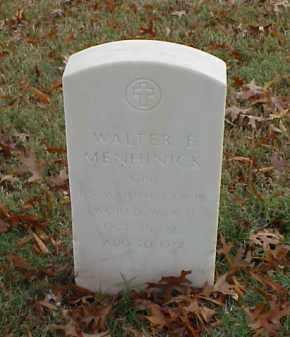 MENHINICK (VETERAN WWII), WALTER E - Pulaski County, Arkansas | WALTER E MENHINICK (VETERAN WWII) - Arkansas Gravestone Photos