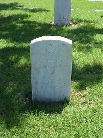MERCER (VETERAN WWII), PANTROY - Pulaski County, Arkansas | PANTROY MERCER (VETERAN WWII) - Arkansas Gravestone Photos
