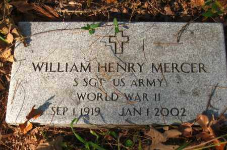 MERCER (VETERAN WWII), WILLIAM HENRY - Pulaski County, Arkansas | WILLIAM HENRY MERCER (VETERAN WWII) - Arkansas Gravestone Photos