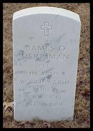 MERRIMAN (VETERAN 2 WARS), JAMES O - Pulaski County, Arkansas | JAMES O MERRIMAN (VETERAN 2 WARS) - Arkansas Gravestone Photos