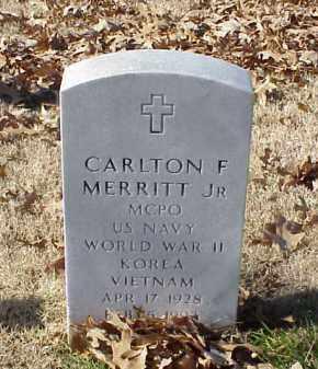 MERRITT, JR (VETERAN 3 WARS), CARLTON F - Pulaski County, Arkansas | CARLTON F MERRITT, JR (VETERAN 3 WARS) - Arkansas Gravestone Photos