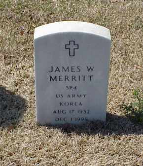 MERRITT (VETERAN KOR), JAMES W - Pulaski County, Arkansas | JAMES W MERRITT (VETERAN KOR) - Arkansas Gravestone Photos