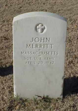 MERRITT (VETERAN WWI), JOHN - Pulaski County, Arkansas | JOHN MERRITT (VETERAN WWI) - Arkansas Gravestone Photos