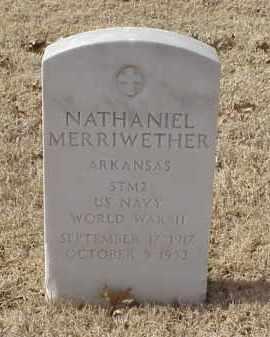 MERRIWETHER (VETERAN WWII), NATHANIEL - Pulaski County, Arkansas | NATHANIEL MERRIWETHER (VETERAN WWII) - Arkansas Gravestone Photos