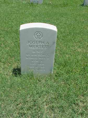 MERTES (VETERAN 3 WARS), JOSEPH A - Pulaski County, Arkansas | JOSEPH A MERTES (VETERAN 3 WARS) - Arkansas Gravestone Photos