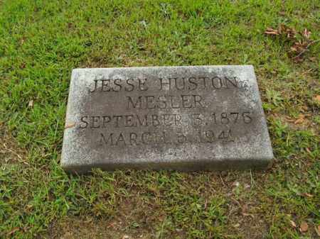 MESLER, JESSE HUSTON - Pulaski County, Arkansas | JESSE HUSTON MESLER - Arkansas Gravestone Photos