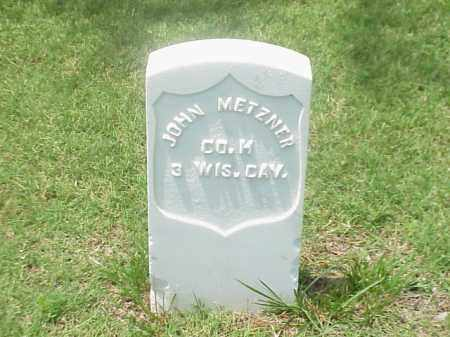 METZNER (VETERAN UNION), JOHN - Pulaski County, Arkansas | JOHN METZNER (VETERAN UNION) - Arkansas Gravestone Photos