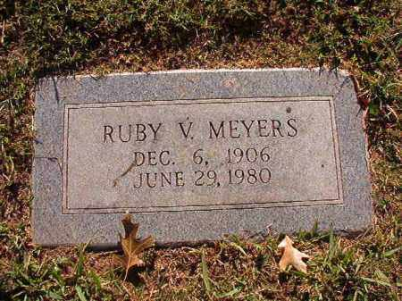 MEYERS, RUBY V - Pulaski County, Arkansas | RUBY V MEYERS - Arkansas Gravestone Photos