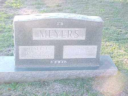 MEYERS, SIDNEY J - Pulaski County, Arkansas | SIDNEY J MEYERS - Arkansas Gravestone Photos