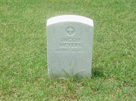 MEYERS, JACOB - Pulaski County, Arkansas | JACOB MEYERS - Arkansas Gravestone Photos
