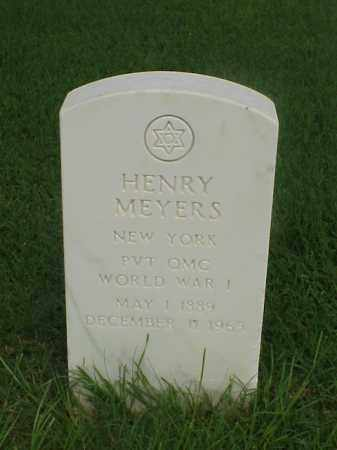 MEYERS (VETERAN WWI), HENRY - Pulaski County, Arkansas | HENRY MEYERS (VETERAN WWI) - Arkansas Gravestone Photos