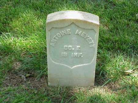 MEYETT (VETERAN UNION), ANTOINE - Pulaski County, Arkansas | ANTOINE MEYETT (VETERAN UNION) - Arkansas Gravestone Photos