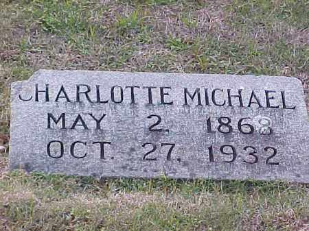 MICHAEL, CHARLOTTE - Pulaski County, Arkansas | CHARLOTTE MICHAEL - Arkansas Gravestone Photos