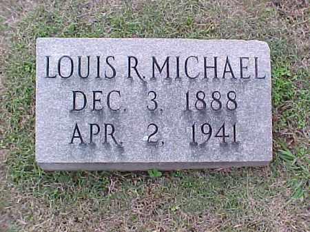 MICHAEL, LOUIS R - Pulaski County, Arkansas | LOUIS R MICHAEL - Arkansas Gravestone Photos