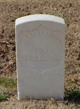 MILER (VETERAN UNION), GILBERT - Pulaski County, Arkansas | GILBERT MILER (VETERAN UNION) - Arkansas Gravestone Photos