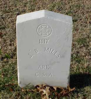 MILES (VETERAN CSA), J B - Pulaski County, Arkansas | J B MILES (VETERAN CSA) - Arkansas Gravestone Photos