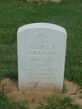 MILLARD (VETERAN WWI), JAMES R - Pulaski County, Arkansas | JAMES R MILLARD (VETERAN WWI) - Arkansas Gravestone Photos