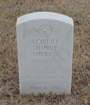 MILLER  (VETERAN WWII), ROBERT SIDNEY - Pulaski County, Arkansas | ROBERT SIDNEY MILLER  (VETERAN WWII) - Arkansas Gravestone Photos