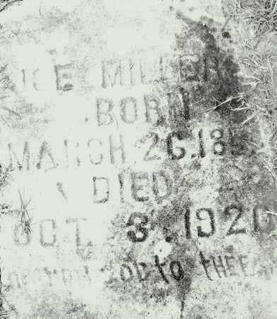 MILLER, ACE - Pulaski County, Arkansas | ACE MILLER - Arkansas Gravestone Photos