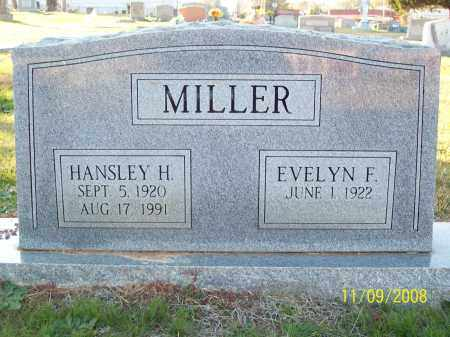 MILLER, HANSLEY H - Pulaski County, Arkansas | HANSLEY H MILLER - Arkansas Gravestone Photos