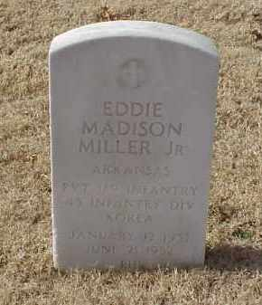 MILLER, JR (VETERAN KOR), EDDIE MADISON - Pulaski County, Arkansas | EDDIE MADISON MILLER, JR (VETERAN KOR) - Arkansas Gravestone Photos