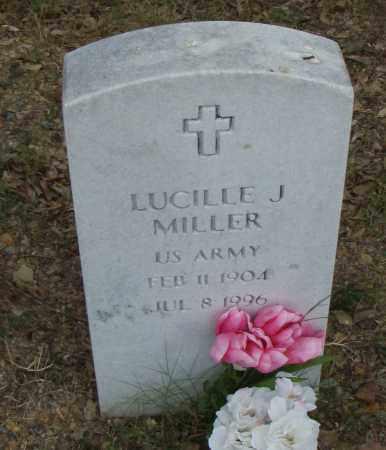 MILLER  (VETERAN), LUCILLE J. - Pulaski County, Arkansas | LUCILLE J. MILLER  (VETERAN) - Arkansas Gravestone Photos
