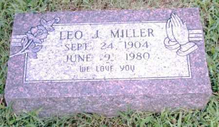 MILLER, LEO J. - Pulaski County, Arkansas | LEO J. MILLER - Arkansas Gravestone Photos