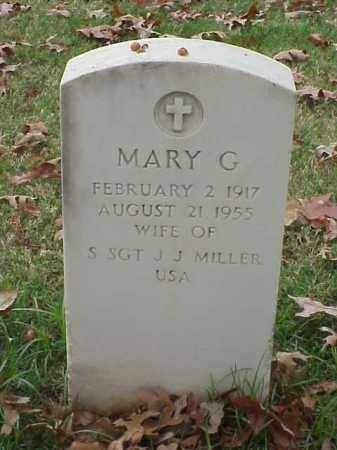 MILLER, MARY G - Pulaski County, Arkansas | MARY G MILLER - Arkansas Gravestone Photos