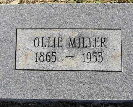 MILLER, OLLIE - Pulaski County, Arkansas | OLLIE MILLER - Arkansas Gravestone Photos