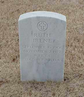 MILLER, RUTH IRENE - Pulaski County, Arkansas | RUTH IRENE MILLER - Arkansas Gravestone Photos