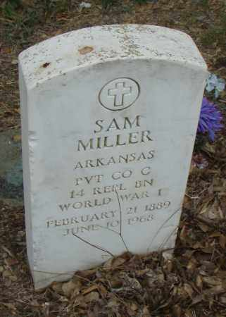 MILLER  (VETERAN WWI), SAM - Pulaski County, Arkansas | SAM MILLER  (VETERAN WWI) - Arkansas Gravestone Photos