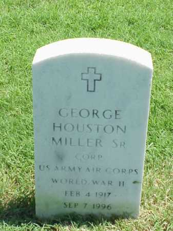MILLER, SR (VETERAN WWII), GEORGE HOUSTON - Pulaski County, Arkansas | GEORGE HOUSTON MILLER, SR (VETERAN WWII) - Arkansas Gravestone Photos