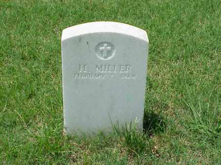 MILLER (VETERAN UNION), H - Pulaski County, Arkansas | H MILLER (VETERAN UNION) - Arkansas Gravestone Photos