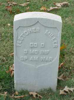 MILLER (VETERAN SAW), FLETCHER - Pulaski County, Arkansas | FLETCHER MILLER (VETERAN SAW) - Arkansas Gravestone Photos