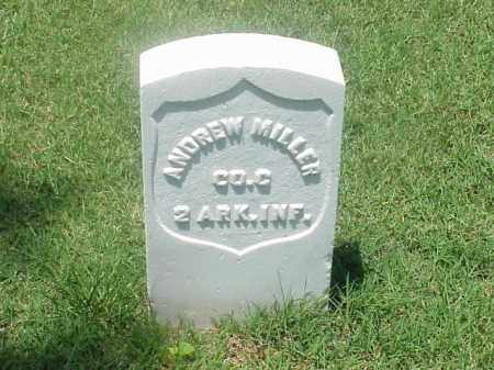 MILLER (VETERAN UNION), ANDREW - Pulaski County, Arkansas | ANDREW MILLER (VETERAN UNION) - Arkansas Gravestone Photos
