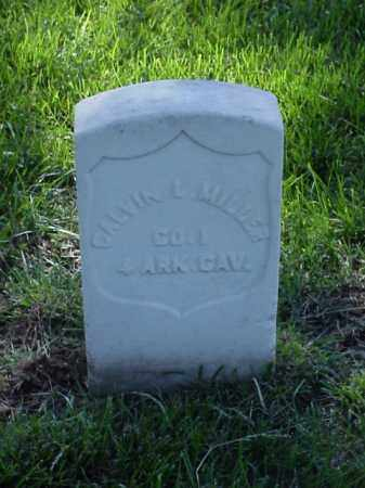 MILLER (VETERAN UNION), CALVIN L - Pulaski County, Arkansas | CALVIN L MILLER (VETERAN UNION) - Arkansas Gravestone Photos