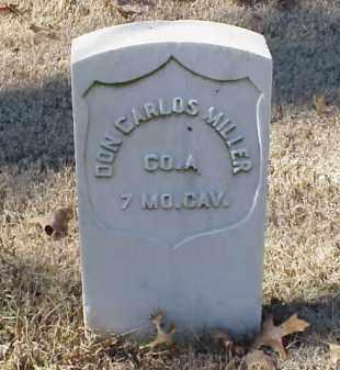 MILLER (VETERAN UNION), DON CARLOS - Pulaski County, Arkansas | DON CARLOS MILLER (VETERAN UNION) - Arkansas Gravestone Photos