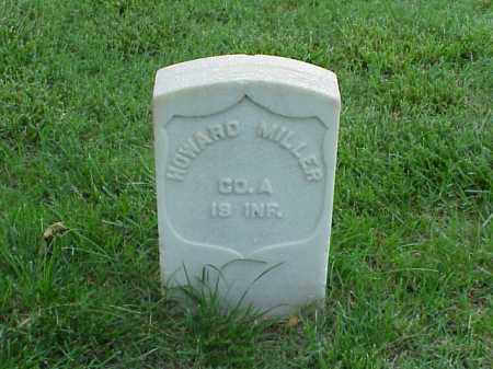 MILLER (VETERAN UNION), HOWARD - Pulaski County, Arkansas | HOWARD MILLER (VETERAN UNION) - Arkansas Gravestone Photos