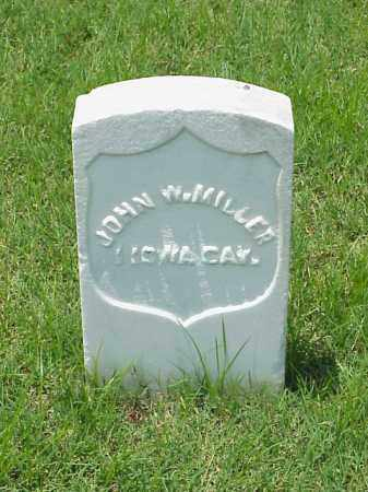 MILLER (VETERAN UNION), JOHN W - Pulaski County, Arkansas | JOHN W MILLER (VETERAN UNION) - Arkansas Gravestone Photos