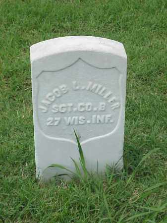 MILLER (VETERAN UNION), JACOB - Pulaski County, Arkansas | JACOB MILLER (VETERAN UNION) - Arkansas Gravestone Photos