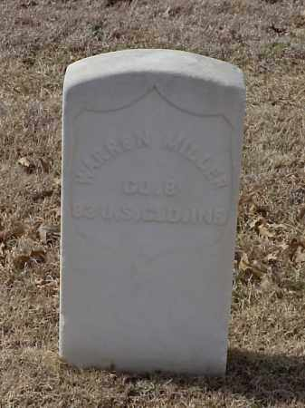 MILLER (VETERAN UNION), WARREN - Pulaski County, Arkansas | WARREN MILLER (VETERAN UNION) - Arkansas Gravestone Photos