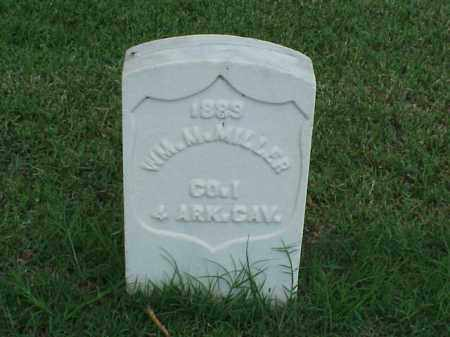 MILLER (VETERAN UNION), WILLIAM M - Pulaski County, Arkansas | WILLIAM M MILLER (VETERAN UNION) - Arkansas Gravestone Photos