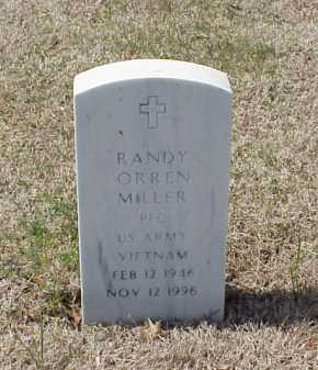 MILLER (VETERAN VIET), RANDY ORREN - Pulaski County, Arkansas | RANDY ORREN MILLER (VETERAN VIET) - Arkansas Gravestone Photos