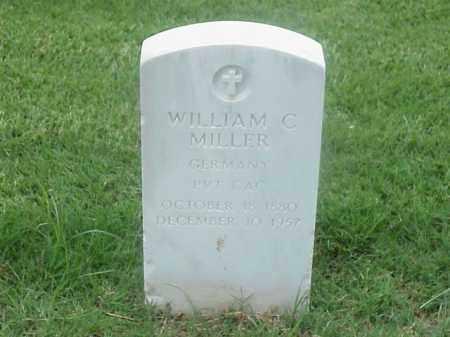 MILLER (VETERAN), WILLIAM C - Pulaski County, Arkansas | WILLIAM C MILLER (VETERAN) - Arkansas Gravestone Photos