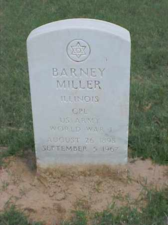 MILLER (VETERAN WWI), BARNEY - Pulaski County, Arkansas | BARNEY MILLER (VETERAN WWI) - Arkansas Gravestone Photos
