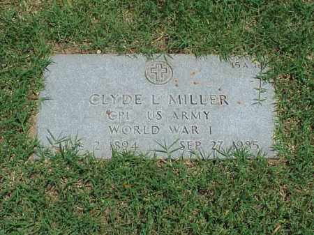 MILLER (VETERAN WWI), CLYDE L - Pulaski County, Arkansas | CLYDE L MILLER (VETERAN WWI) - Arkansas Gravestone Photos