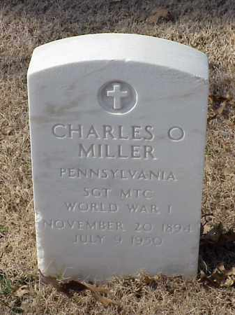 MILLER (VETERAN WWI), CHARLES O - Pulaski County, Arkansas | CHARLES O MILLER (VETERAN WWI) - Arkansas Gravestone Photos